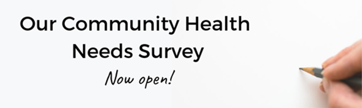 We want your feedback! Click here to let us know about your health needs.